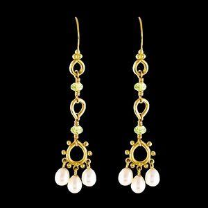 Zara Jewelry | Neiman Marcus Filigree Ruby Earrings | Poshmark